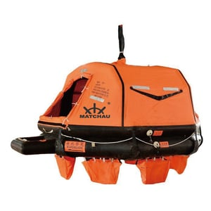 Solas Davit-Launched Inflatable Life Raft