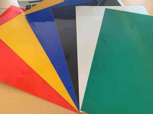 Multicolor Reflective Vinyl Sheets