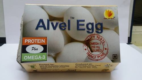 Alvel Omega 3 Eggs Shelf Life: 21 Days
