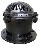 Ci Foot Valves Flange Ends