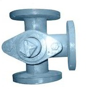 Ci/ Ss 2 Way Or 3 Way Plug Valves