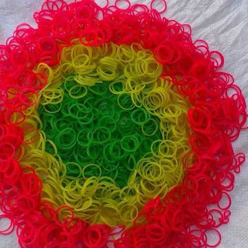 Simple Florescent Rubber Band