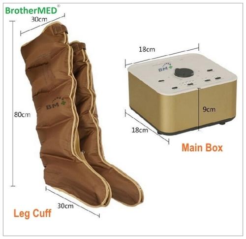 Air Compression Heated Massager Machine [Leg+Arm+Waist Cuff Set]