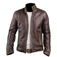 Brown Pure Leather Jackets