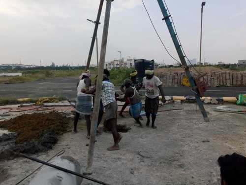 Pile Foundation Civil Construction Services in New Area, Chennai