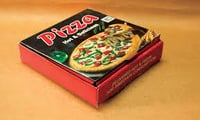 Printed Pizza Delivery Boxes