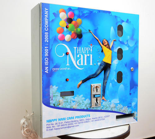 Automatic Coin Operated Sanitary Napkin Vending Machine