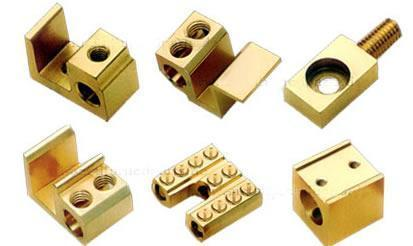 Brass Terminal For Pole Connecting Block
