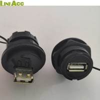 Waterproof USB A Female To Female Connector
