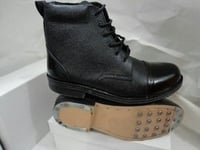 Finely Polished Leather Boot