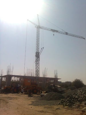 Electric Mobile Tower Crane