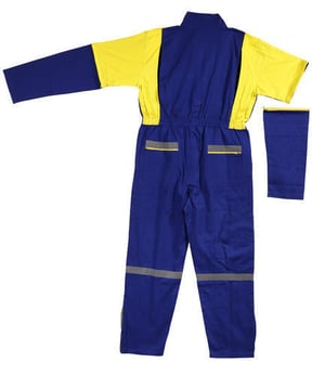 Industrial Poly Cotton Worker Jumpsuit