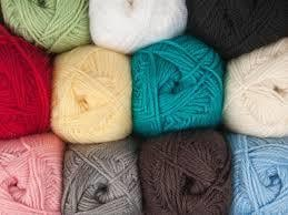 Multi Color Worsted Yarn