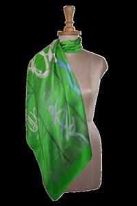 Elegant Look Square Silk Scarves