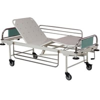Full Fowler Bed With Rails And Wheels