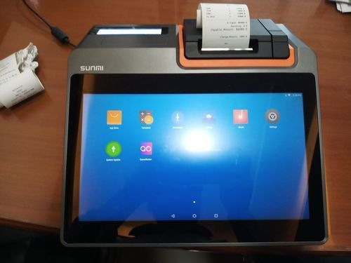 Mini Android POS Machine With Built in Printer - SPOK