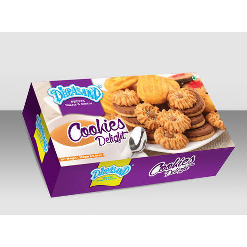 Rectangular Cookies Packaging Box