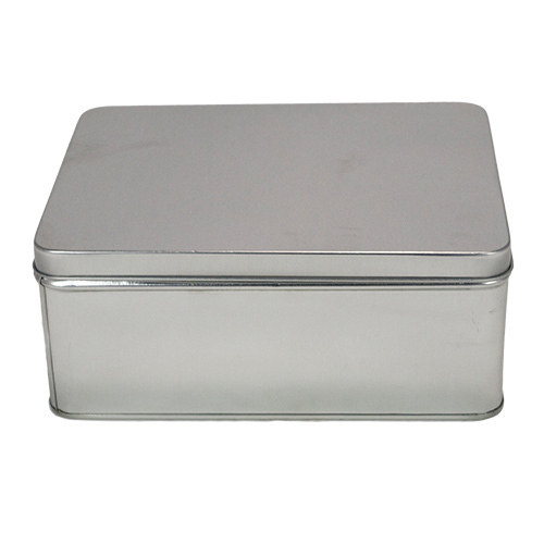 Rectangular Plain Tin Box