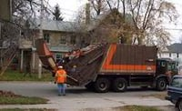 Durable Leaf Collector Truck