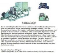Industrial Sigma Mixer For Soap