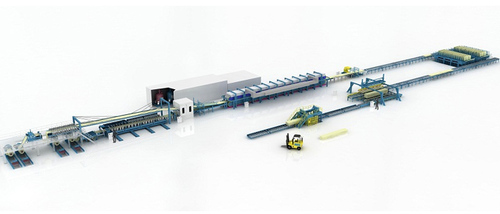 Continuous Polyurethane Sandwich Panel Production Line