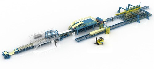 Expanded Polystyrene(EPS) Sandwich Panel Production Line
