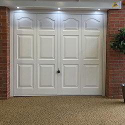 Fine Finished Garage Door