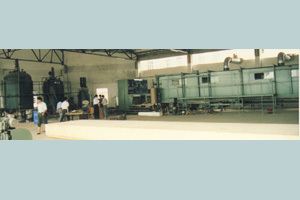 Polyurethane Foaming Line For Flat Surfaces