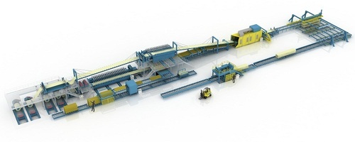Sandwich Panel Production Line For Mineral Wool