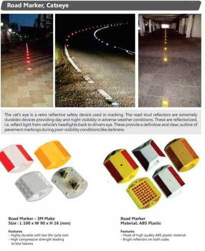 3m Solar Road Studs
