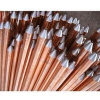 Rod And Pipe Type Copper Earthing Electrodes
