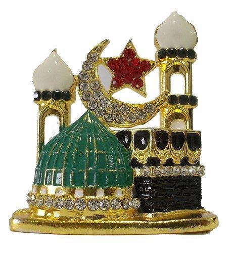 Car Dashboard Muslim Religious Mecca Madina Showpiece