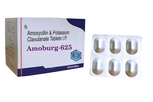 Amoxycillin 500Mg And Clavulanic Acid 125Mg In Tablets