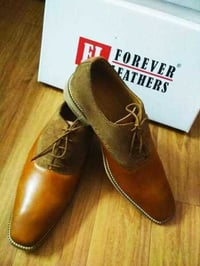 Oxford Suede Leather Shoe