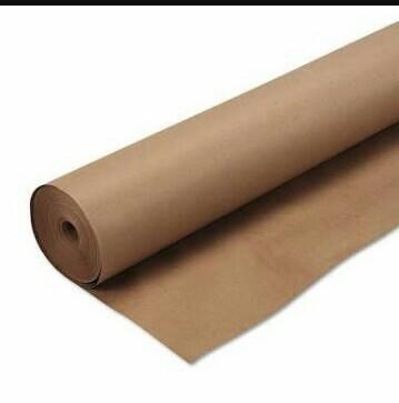 Brown Pattern Paper Roll