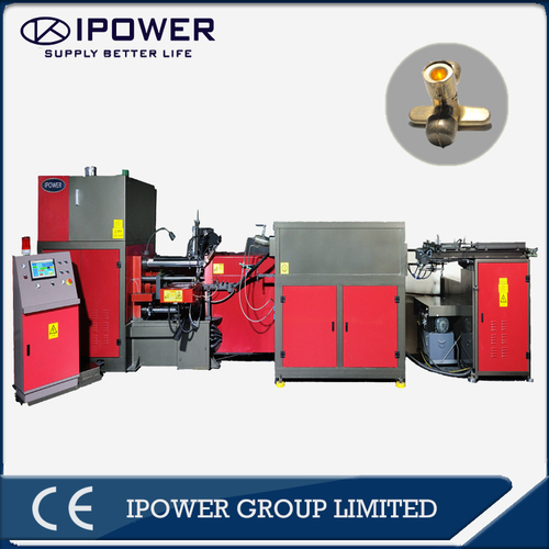 Full-Automatic Hot Forging Press For Brass Air Conditioner Stop Valve