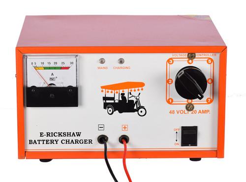 E Rickshaw Battery Charger 48v/20 Amp