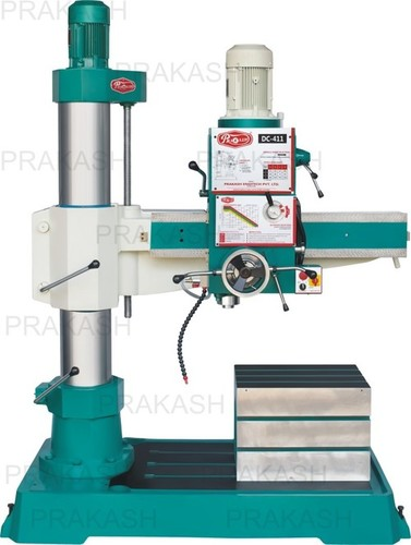 Double Column Allgeared Radial Drilling Machine