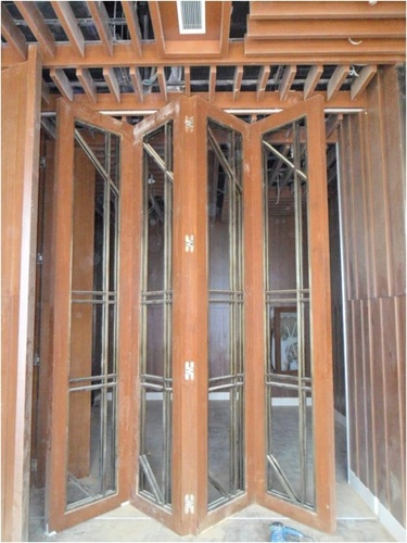 Brass Heavy Door Sliding Foldings