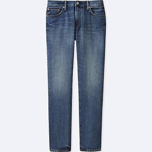 Mens Blue Denim Shadded Jeans Breathable