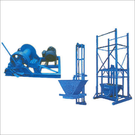 Hydraulic Power Winch Machine