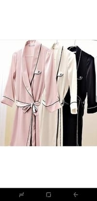 Satin Night Or Dressing Robes for Ladies