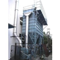 Vertical Cyclone Type Dedusting System