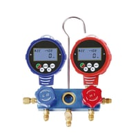 2-Valve Refrigeration Digital R410A Manifold Gauge WK-6882 With 3 Sizes Of Hose