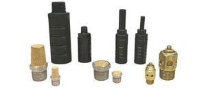 Plastic And Brass Silencer