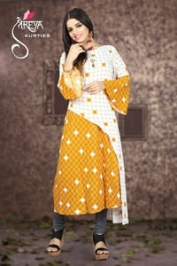 Fancy Ladies Net Kurti