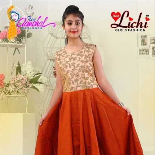 Ethnic Girls Party Wear Gown
