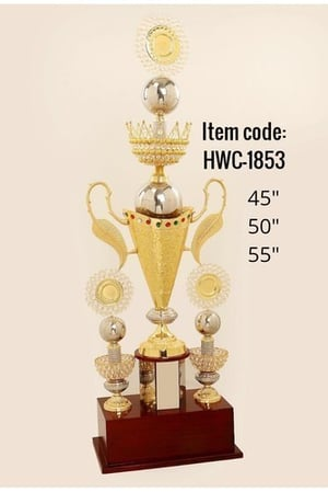 Cone Style High Trophy