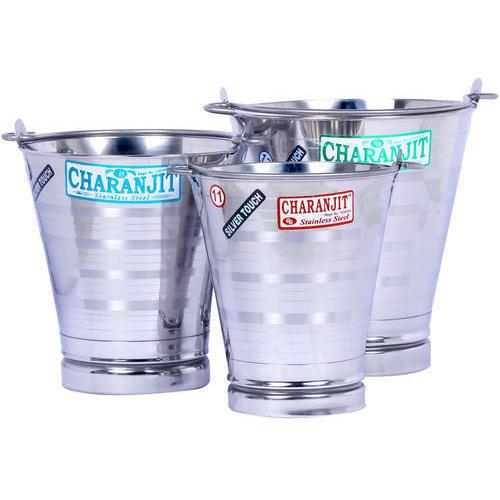 Stainless Steel Bucket Light Weight