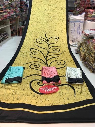 Exclusive Batik Printed Sarees